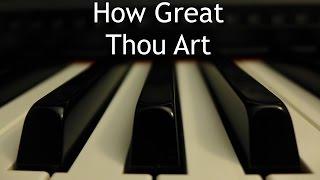 Watch Hymn How Great Thou Art video