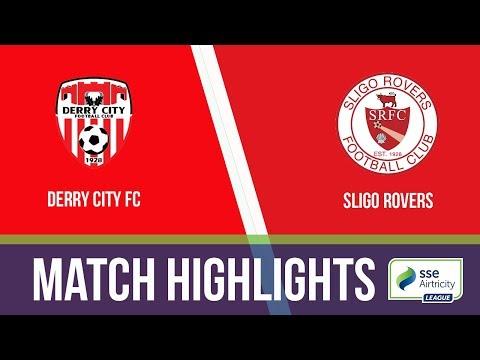 GW26: Derry City 3-0 Sligo Rovers