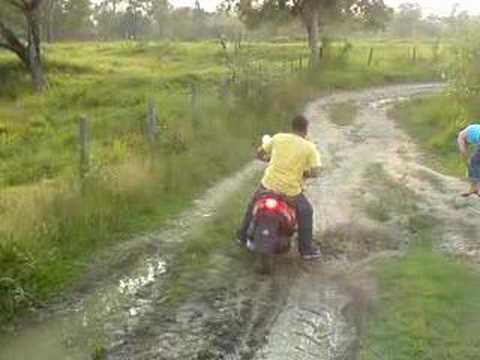 caida en moto