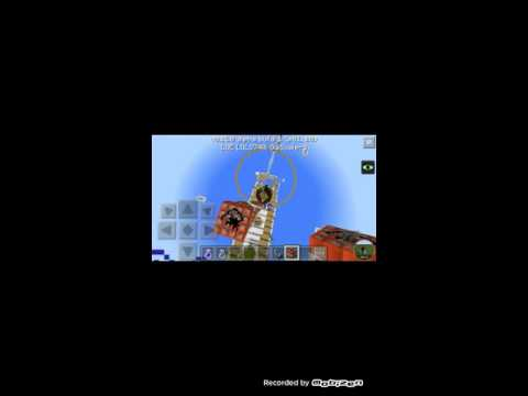Minecraft pe sinking titanic map. TNT TIME!😈