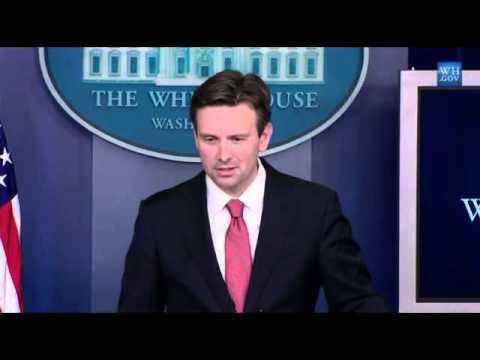 Josh Earnest says Obama was