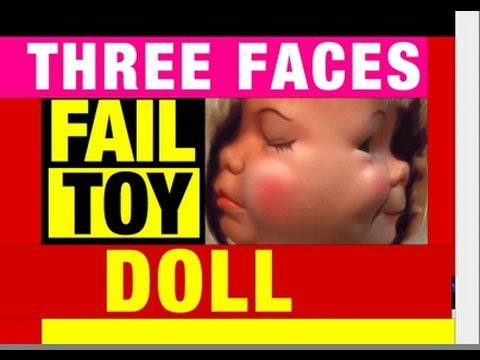 Fail Toys 3 Faces Baby Doll. Video Review Mike Mozart @JeepersMedia YouTube