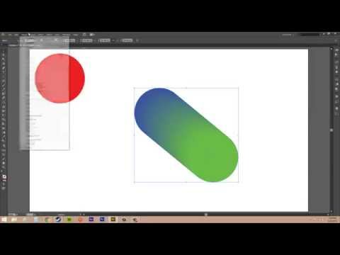 Adobe Illustrator CS6 for Beginners - Tutorial 47 - How to Blend Colors