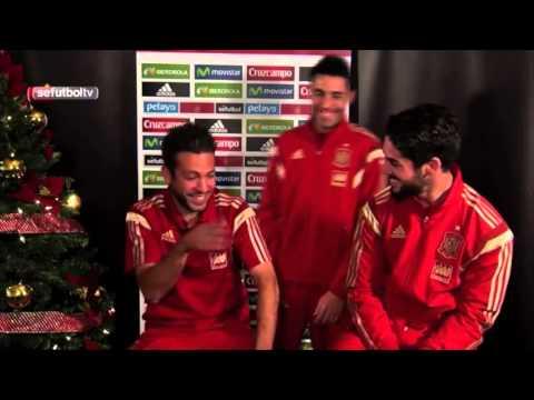 Jordi Alba felicitació de Nadal de la selecció espanyola
