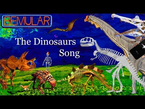 Bemular - The Dinosaurs Song (Educational Kids Music & Video)
