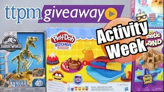 Win Activity Toys on #TTPMLIVE
