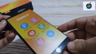 Unboxing (desembalando) Motorola Moto E5