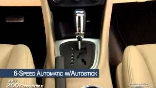 2011 Chrysler 200 Convertible  Advantage