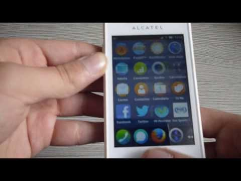Firefox OS Alcatel One TouchFire Review en Español