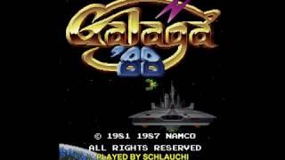 Arcade Longplay [688] Galaga '88