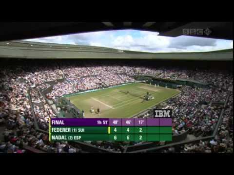 Wimbledon 2008 Final   Rafael Nadal vs Roger Federer