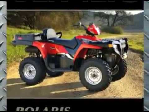 Clymer Manuals Polaris Sportsman 500 400 450 ATV Quad Four Wheeler Service Shop Manual Video
