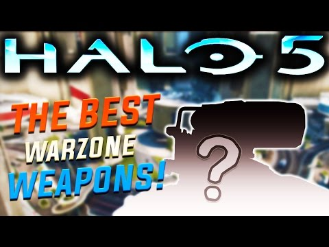 Halo 5 - Using My Favourite Weapons In Warzone! (FAIL!)