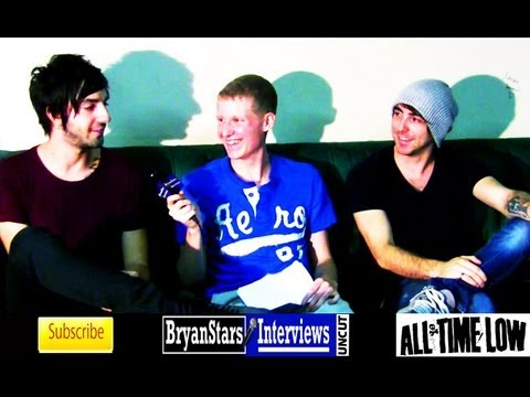 All Time Low Interview #3 UNCUT Alex Gaskarth & Jack Barakat 2012