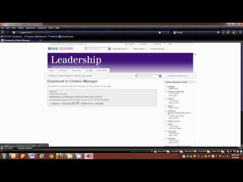 dissertation tutorial record