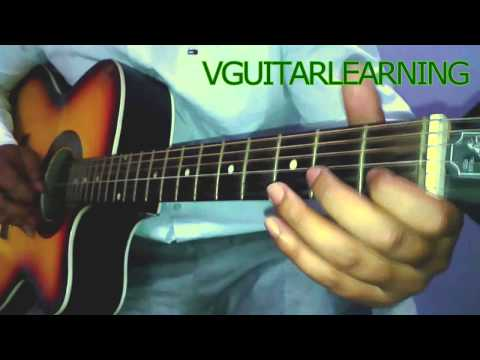 Papa Kehte Hain Bada Naam Karega Guitar Tutorial - VERY EASY...