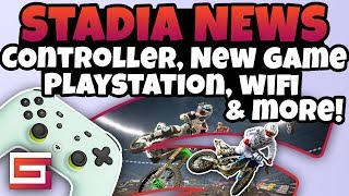 Stadia News Update - Controller, A New Game, Shield TV, PS5, & More