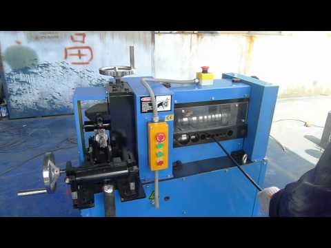 The most heavy duty wire stripping machine sold by Bluedog Wire