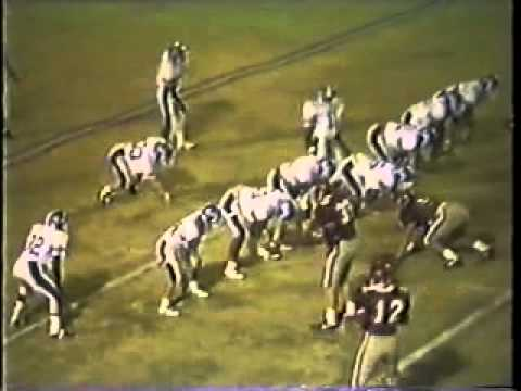 Bolton Wildcats Football 1987 #29 vs.  Evangelical Christian School