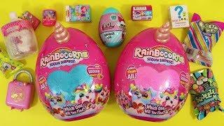 Squishies & plushies bonanza! Rainbocorns, My Little Pony, Smooshy Mushy, Shopkins Lil' secrets