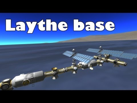 Kerbal Space Program - Laythe base visit