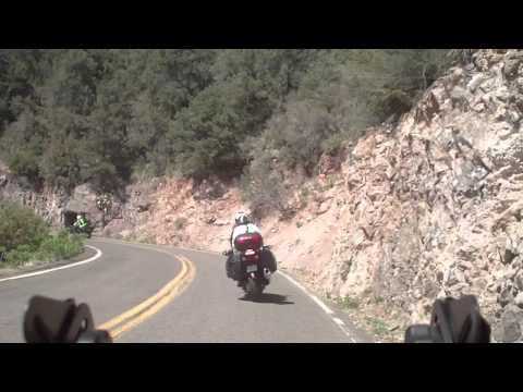 Riding Highway 191 (Devil's Highway, old 666)