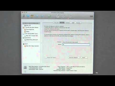 How to Clean Install Mac OS X Lion Using a USB Flash Drive