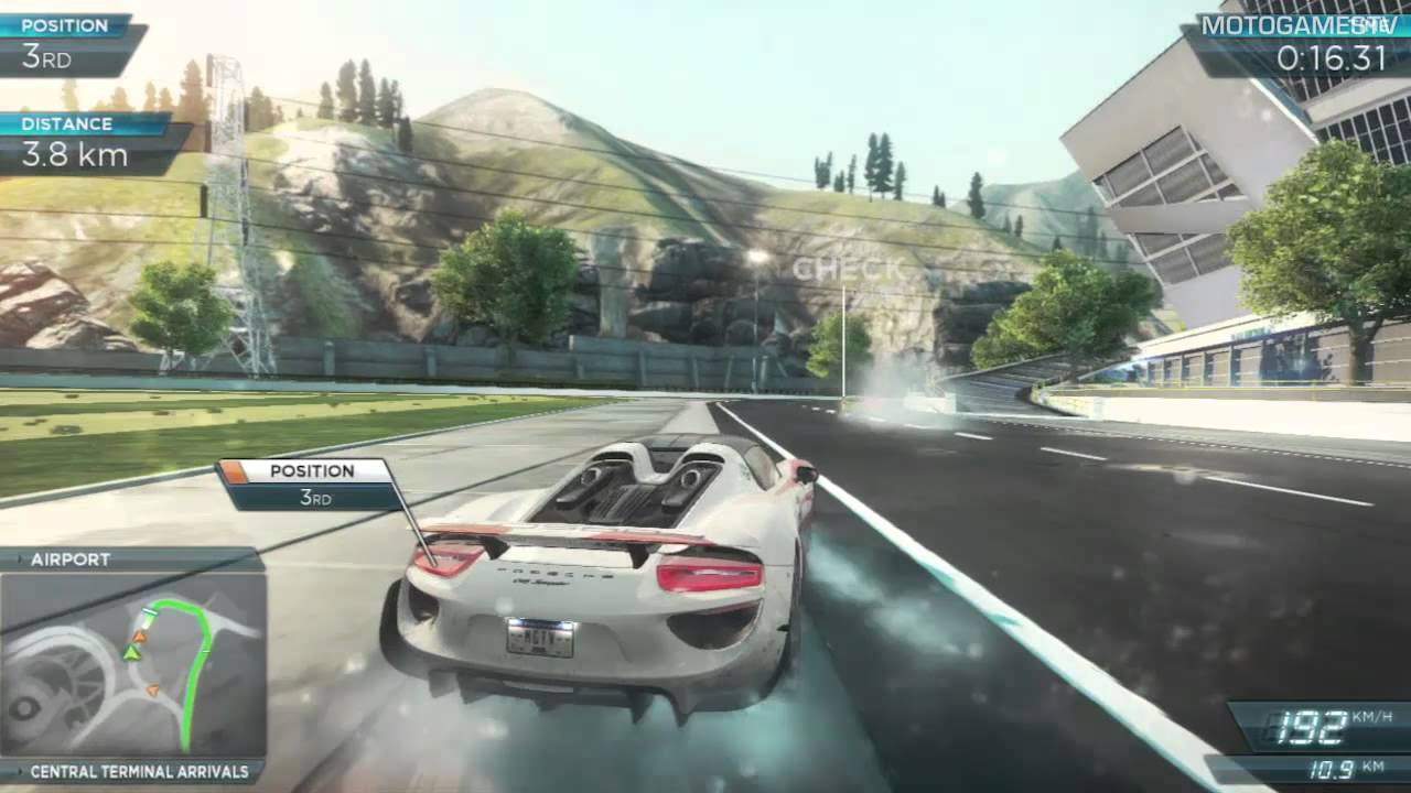 need for speed most wanted 2012 porsche 918 spyder gameplay youtube. Black Bedroom Furniture Sets. Home Design Ideas