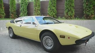 Test Drive by Zenkevich (with English subs). Lamborghini Urraco (1975)