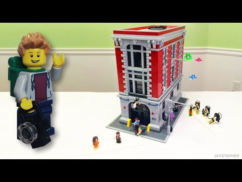 Review - Lego Ghostbusters: Firehouse Headquarters (75827)