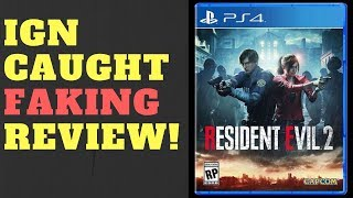 IGN Caught FAKING Review For Resident Evil 2!