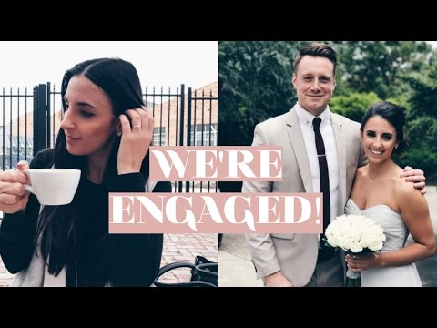 I'M ENGAGED!! | HOW MY FIANCE PROPOSED