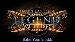 MARIUS DANIELSENS - Legend of Valley Doom // Raise Your Shields Feat. Mark Boals // Crime Records