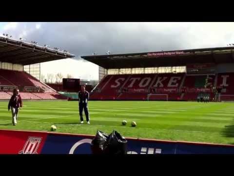Sir Stanley Matthews penalty shoot out final goal