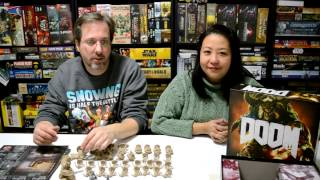 Unboxing of the board game Doom by Fantasy Flight Games