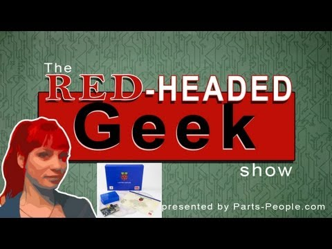 E07-Blue Pi, 3D Printed Car, Cancer Detective, and The Pixel: Red-Headed Geek Show