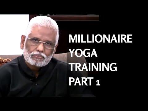 Millionaire Yoga Training Part 1 - Millionaire's Brain & Third Eye Initiation By Dr. Pillai
