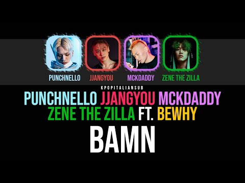 [SUB ENG / ITA] BGM-v Crew (Punchnello, Jjangyou, Mckdaddy, Zene the Zilla ft. Bewhy) - BAMN [SMTM8]