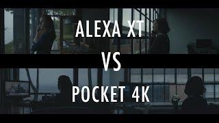 Blackmagic Pocket 4k VS Hollywood Movie Camera | Arri Alexa XT