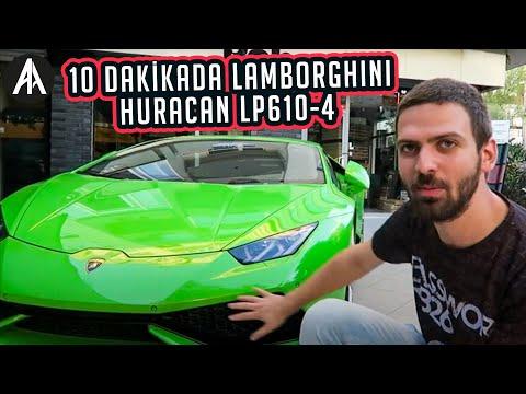 10 dakikada | Lamborghini Huracan LP610-4