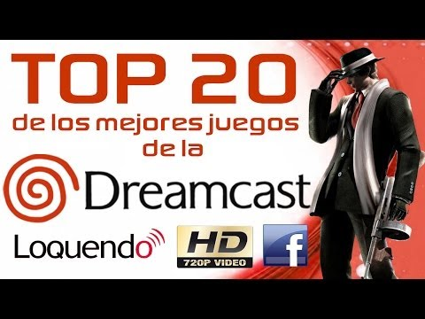 Top 20 de los mejores juegos de la Sega Dreamcast HD [LOQUENDO] + [Emulador y Juegos]