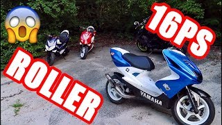 16 PS SPEEDFIGHT 2 | YAMAHA AEROX | KTM SMC-R 690