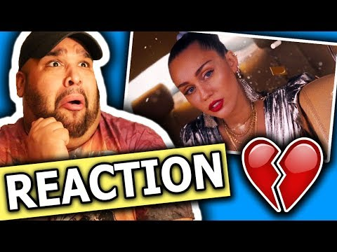 Mark Ronson ft. Miley Cyrus - Nothing Breaks Like a Heart  REACTION