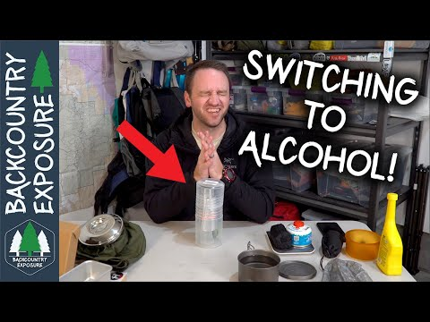 Switching To Alcohol | Trail Designs Caldera Cone