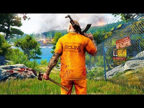 SCUM Gameplay E3 2018 (Open World PC Survival Game)