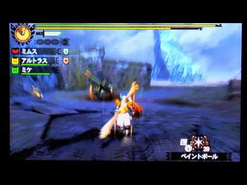 MH4 gameplay  Zaboazagiru   Zaboazagiru Armor