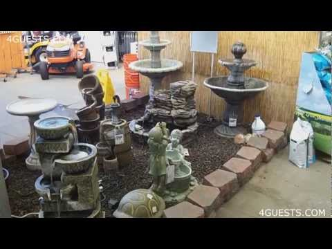 WATER FOUNTAINS, GARDEN CENTER AT HOME DEPOT