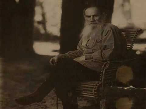 Leo Tolstoy reads from
