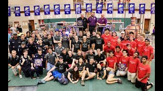 2017 FIRST Robotics winners of IRI Final 2 Teams 195, 1619, 2590,1710  long version