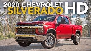 2020 Chevrolet Silverado 2500HD Review - First Drive